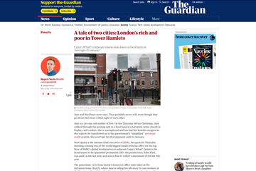 a tale of two cities londons rich and poor in th
