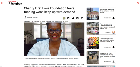 charity first love foundation fears funding wont keep with demand